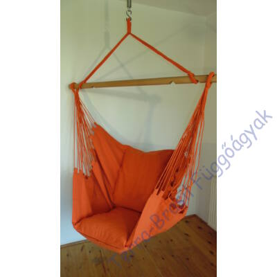 Narancs Lux XL függőfotel