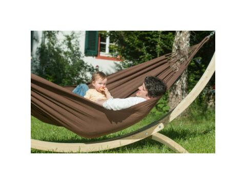 Függőágyban az Amazonason